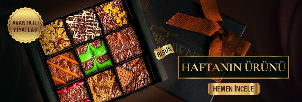 Brownies Risus özel hediye paketi