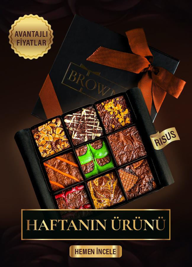 Etkileyici hediye paketleri Risus özel indirimli Brownie hediyesi