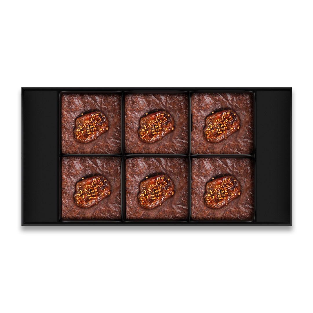 Özel gün hediyesi brownies by limburgia