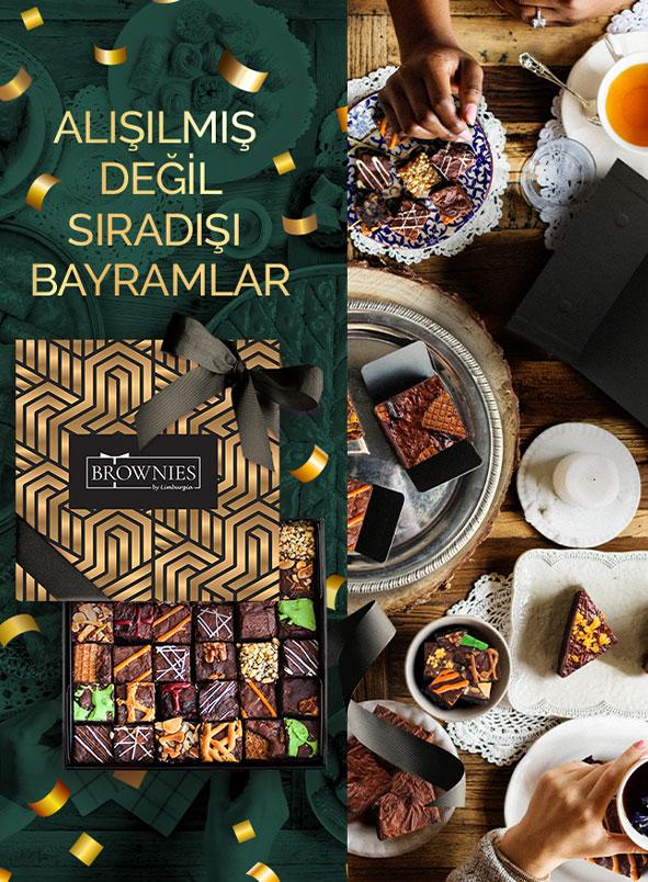 Ramazan bayramı brownie hediye kutusu